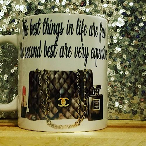 The best things in life are free, the second best are very expensive mug