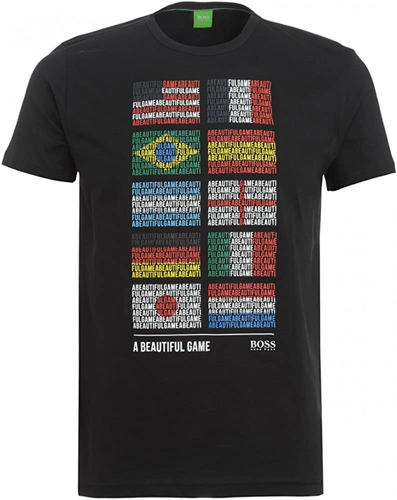 BOSS Hugo Green Camiseta, Negro Diez Bandera T Negro Negro 2XL: Amazon.es: Ropa y accesorios