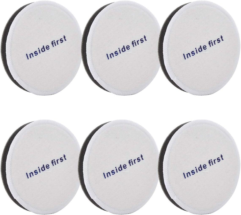 LesinaVac Replacement Filters for Eureka NEU180, NEU180C, NEU182A, NEU12CT, NEU186, NEU188, NEU190 and More Models Vacuums(6-Pack Pre-Motor Foam Filters).
