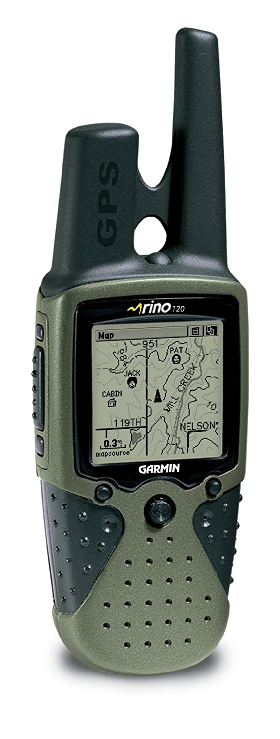 Garmin Rino 120 2-Mile 22-Channel FRS//GMRS Two-Way Radio and GPS Navigator Discontinued by Manufacturer