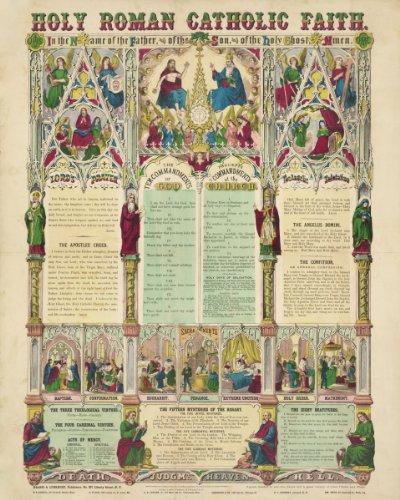 Photo Print 30x40: Holy Roman Catholic Faith, (Roman Catholic Pictures)