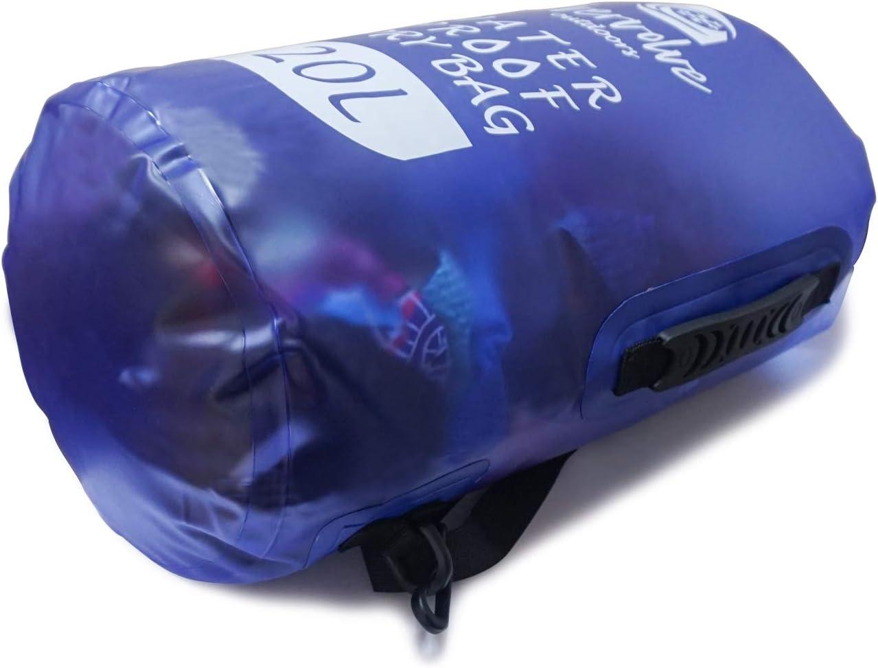 Vgowater Evervolve Bolsa Impermeable para Kayak 15 L, 20 L Acampada