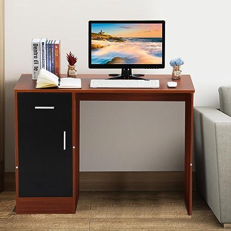 Escritorio de madera para ordenador, de la marca Tinkertonk, para oficina en casa