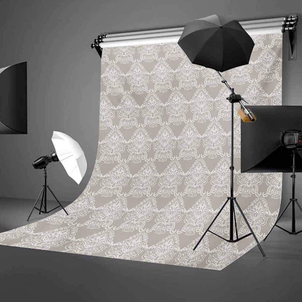 American 8x10 FT Backdrop Photographers,Afro American Woman in High Heels Silhouette with Ray Background Pattern Background for Party Home Decor Outdoorsy Theme Vinyl Shoot Props Black