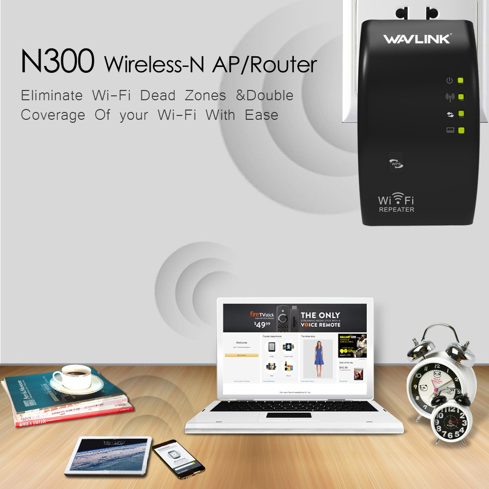 Wlan Repeater, MECO LAN- Port WIFI Range Extender: Amazon.de ...