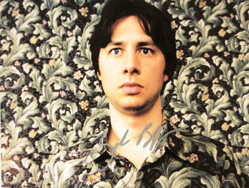 - Zach Braff Autographed 8x10 Photograph - Signed in Silver - Obtained In Person - Garden State / Scrubs / Chicken Little - Out of Print - Rare - Collectible