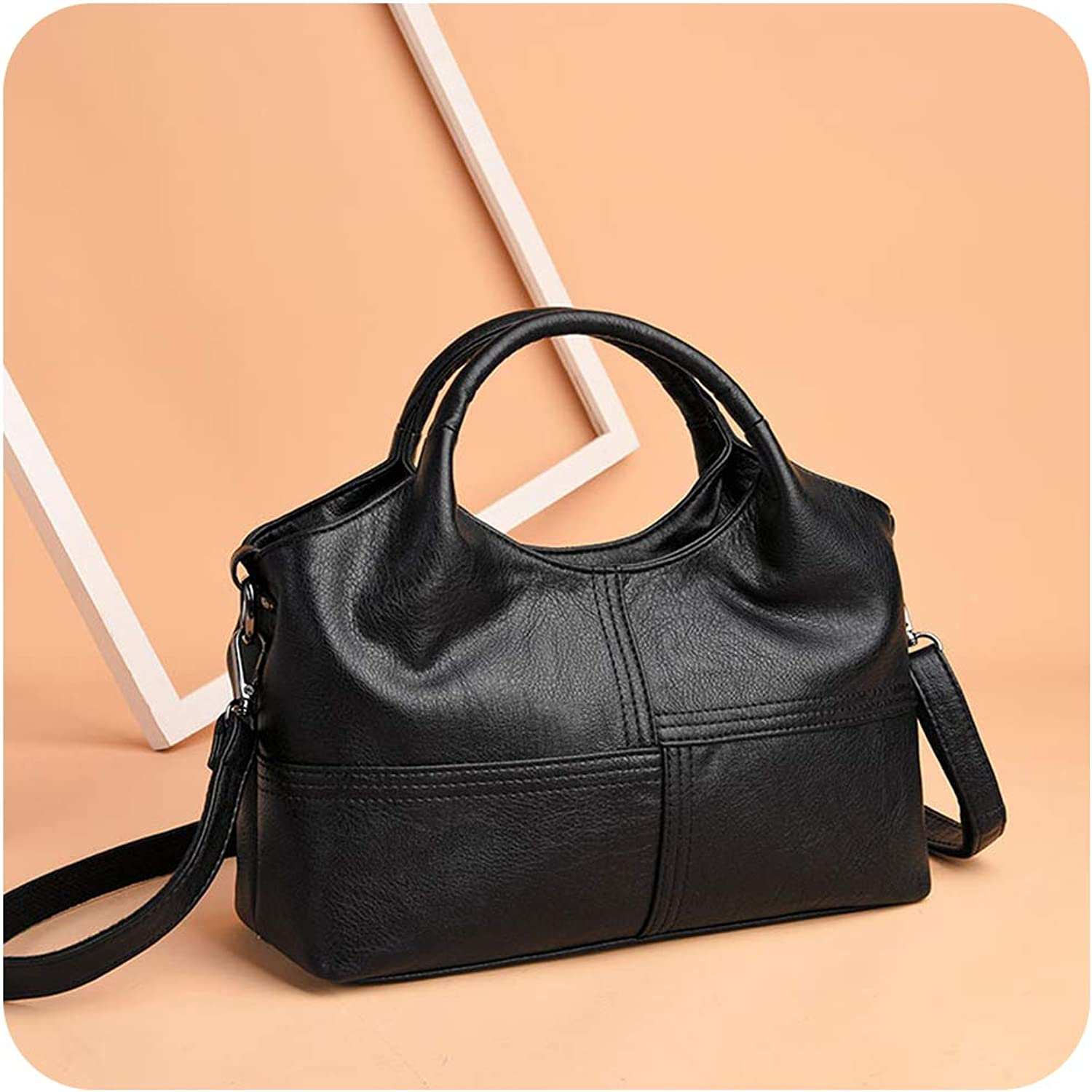 Leather Bags Lady Patchwork Shoulder Crossbody Bags For Women Handbags Tote Bag Women Messenger Bags
