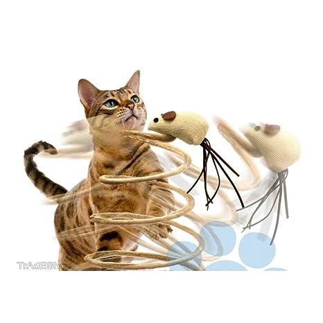 Trade Shop traesiogioco con muñeco Topo Gimnasio para Gato uñas tiragraffi Base Muelle