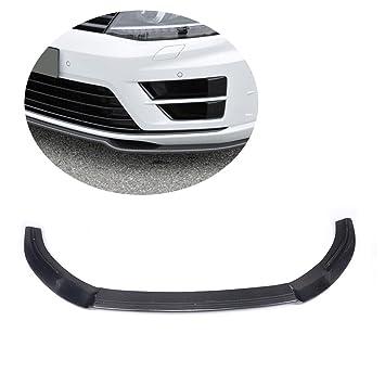 jcsportline de fibra de carbono delantero Labio Spoiler para Golf VII MK7Â R Rline (Fit: Golf R): Amazon.es: Coche y moto