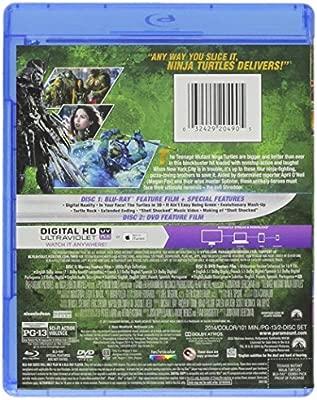 Teenage Mutant Ninja Turtles 2014 2 Blu-Ray Edizione: Stati ...