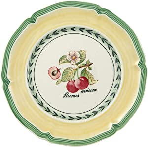 Villeroy & Boch French Garden Valence Bread & Butter Plate : Cherry, 6.5 in, White/Multicolored