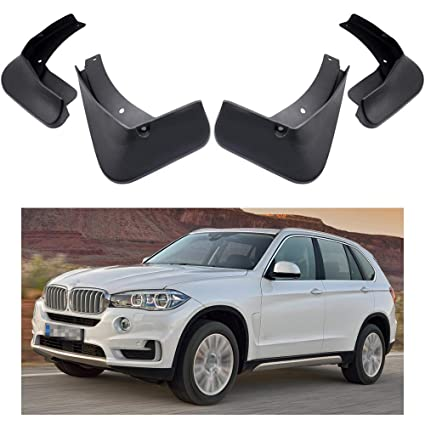1ae51da8703 MOERTIFEI Car Mudguard Fender Mud Flaps Splash Guard Kit fit for BMW X5 2014-2018.  Roll over image to zoom in