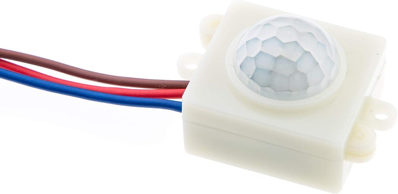 per interni HUBER MOTION 17 rilevatore di movimento 120 /° // 360 /° incorporato bianco
