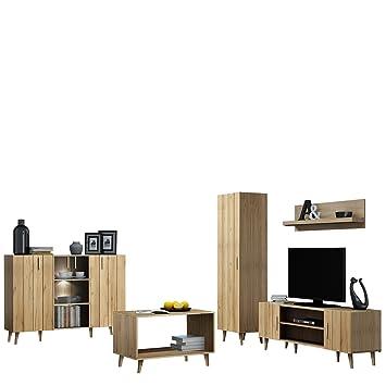 Mirjan24 Wohnzimmer Komplett Bello Ii Elegantes Wohnzimmer Set Im