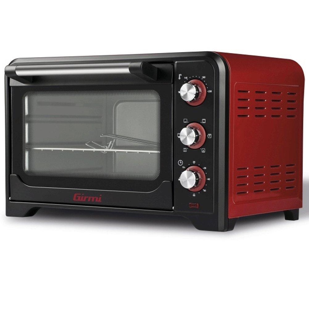 1600 W Acciaio Inossidabile Rosso Girmi FE3500 Forno Elettrico