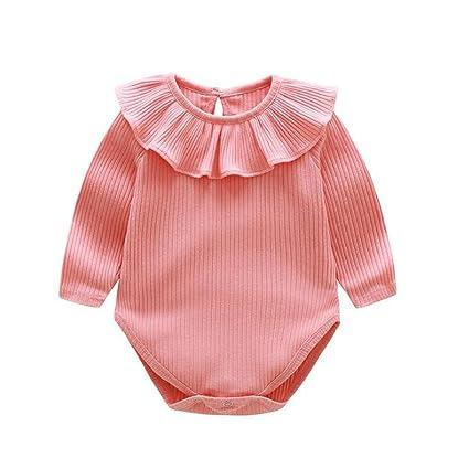 638a60526f0c8 ZooArts ベビー服 ロンパース かわいい 新生児サイズ 男の子 女の子 長袖 無地 綿 カバーオール ワンピース 赤ちゃん 柔らかい おしゃれ