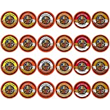 Crazy Cups Flavored Coffee, Single Serve Cups Variety Pack Samplerfor the Keurig K Cup Brewer, 24 count