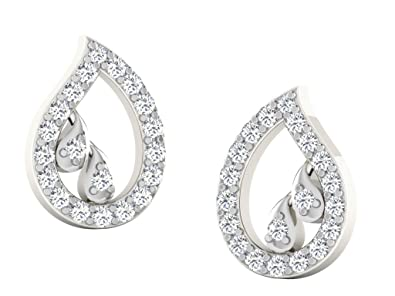 2e98cef3d His & Her Diamonds .925 Sterling Silver and Diamond Stud Earrings