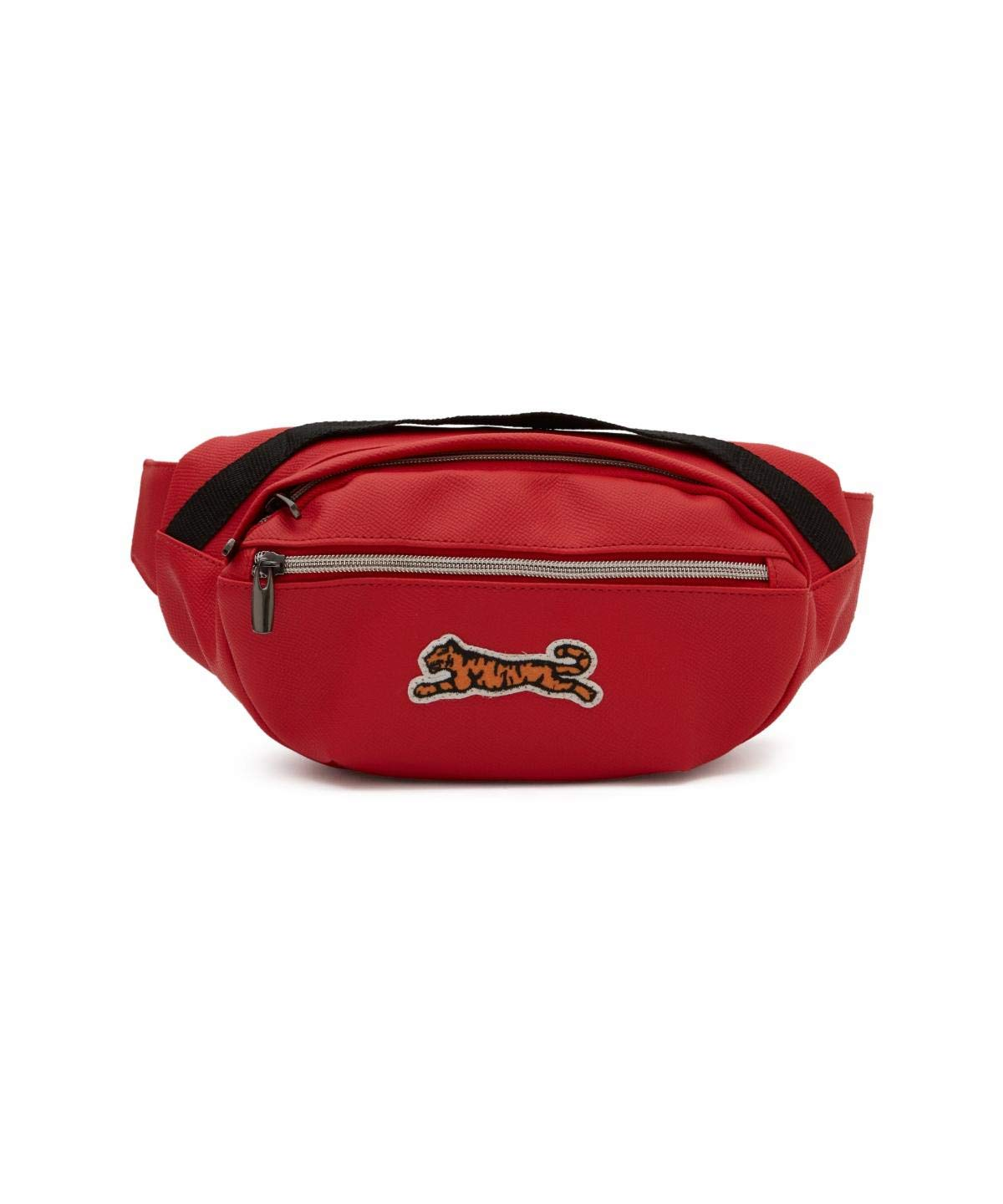 Le Tigre Mens Logo Waist Bag Red One Size