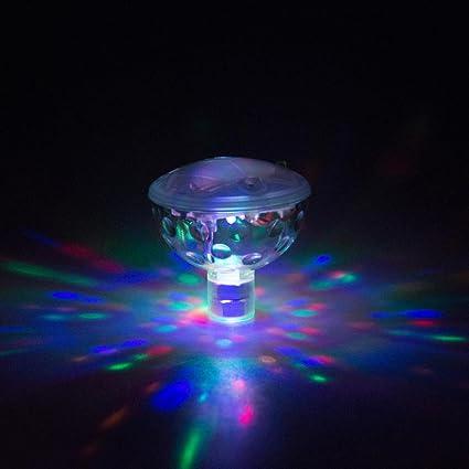 Underwater RGB LED Disco Light ElacoFloating Glow Show Swimming Pool Hot Tub Spa L& ( & Amazon.com : Underwater RGB LED Disco Light ElacoFloating Glow Show ...