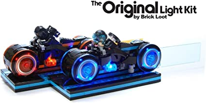 LED Light Kit For LEGO 21314 Idea Tron Legacy Lighting Cycles Racing Motor Bike