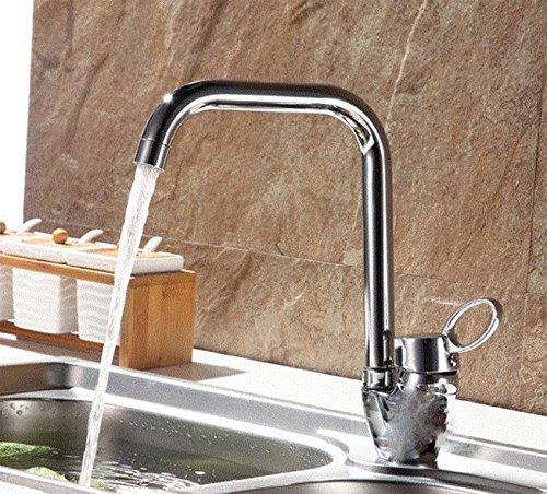 Gyps Faucet Waschtisch-Einhebelmischer Waschtischarmatur Waschtischarmatur Waschtischarmatur Badarmatur Das Kupfer Küche Wasserhahn und Kalten Wasserhahn Schüssel Waschbecken Schlitz Drehen Sie den Wasserhahn,Mischbatterie Waschbecken 5686dd
