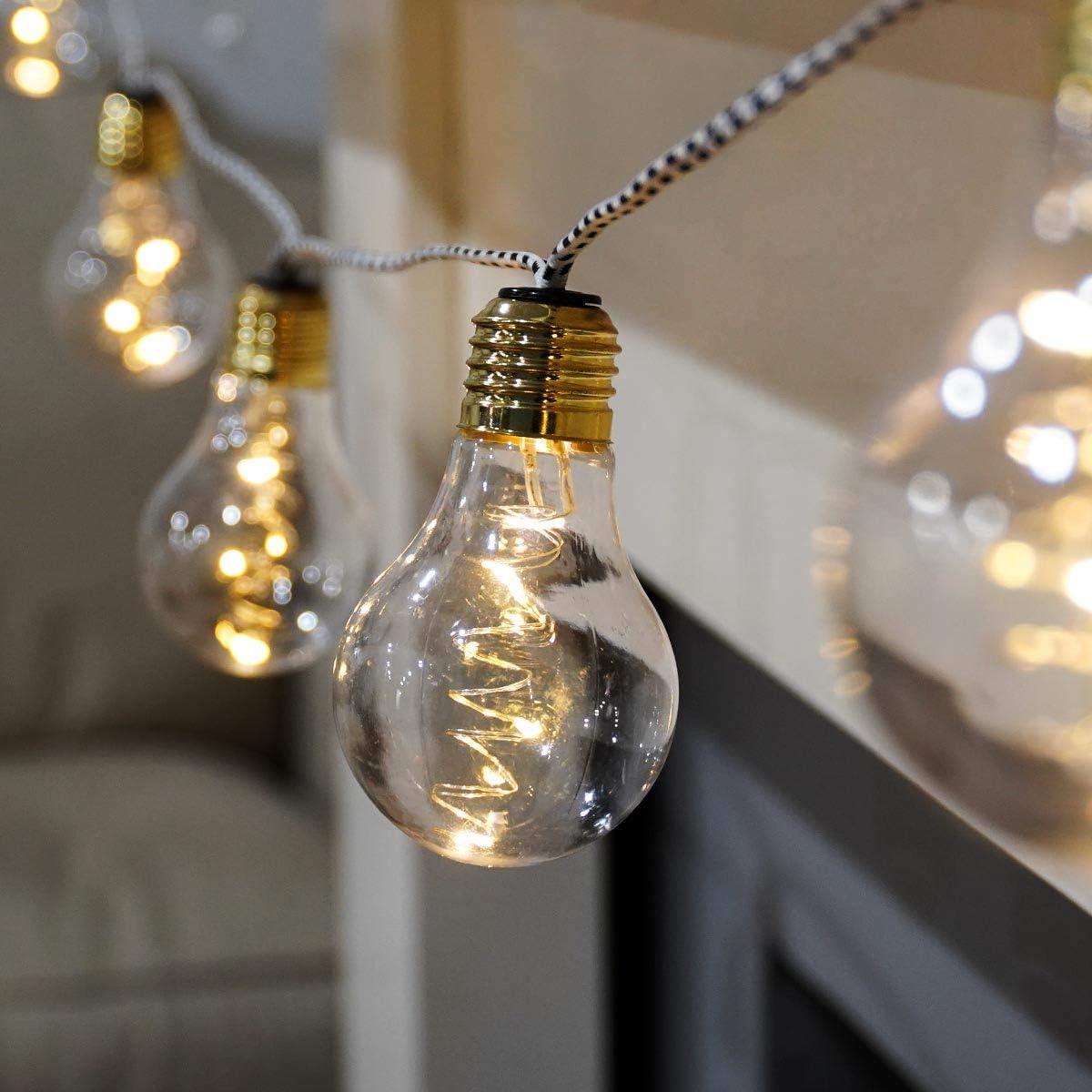 10er-set 10 LED Micro Lichterdraht Mini Lichterkette Weihnachten Deko Party Bele