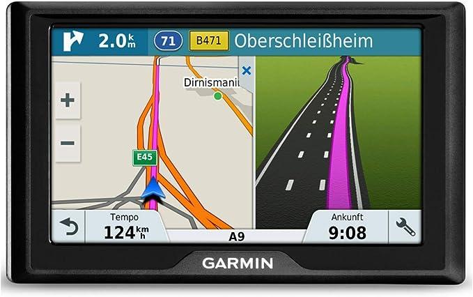 Garmin Drive Navigation Device Touch Screen Lifetime Map Updates Traffic Info Europe Navigation Car Hifi