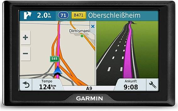 Garmin Drive 51 Lmt S Eu Navigationsgerät Lebenslang Kartenupdates Verkehrsinfos Sicherheitspaket 5 Zoll 12 7cm Touchdisplay Schwarz Navigation