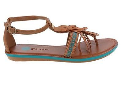 d03b0a0d54611 Grendha Women s 17946 Thong Sandals Brown Size  6.5  Amazon.co.uk ...