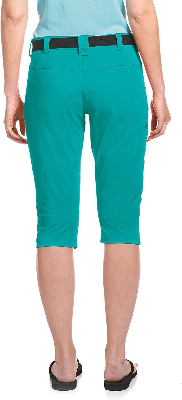 Maier Sports Inara Slim 3//4 Hose Damen Viridian Green 2020 Hose kurz