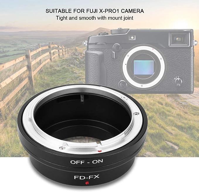 Yoidesu Lens Mount Adapter,M42-FX Aluminum Alloy Lens Mount Adapter,Lens Mount Adapter Ring for M42 Mount Lens to Fujifilm FX Mirrorless Camera,Support Manual Focus