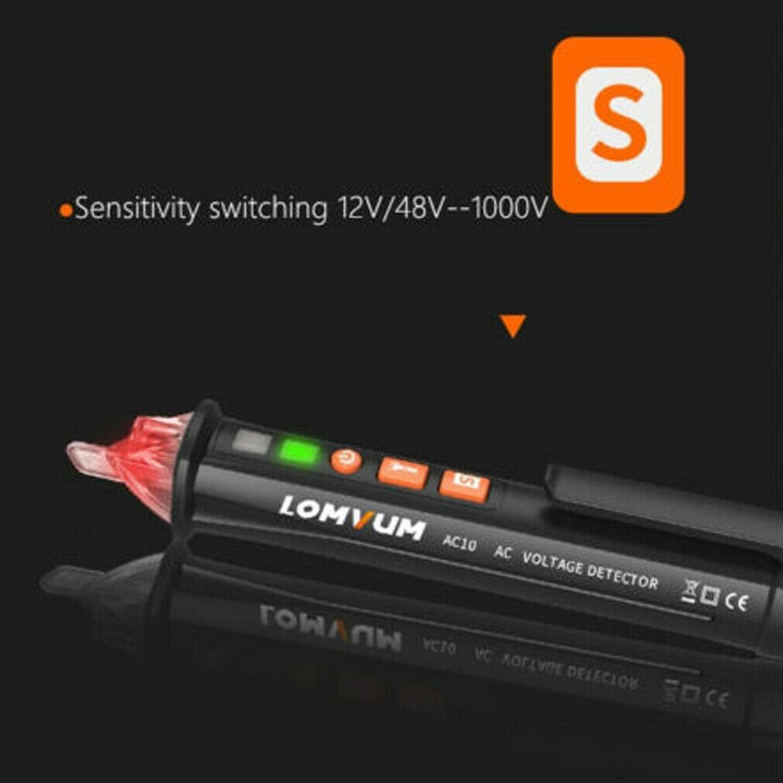 12V//48V-1000V Voltage AC//DC Voltage Sensitivity Electric Compact Pen Test Pencil