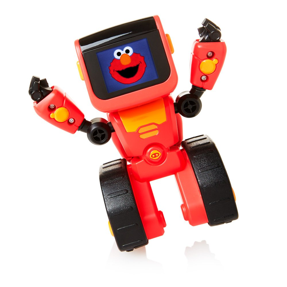 WowWee Elmoji Junior Coding Robot Toy, Red by WowWee (Image #1)