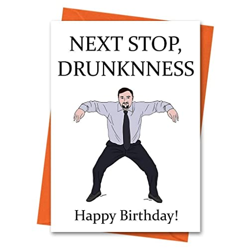 Amazon Funny Birthday Card The Office UK David Brent Dance