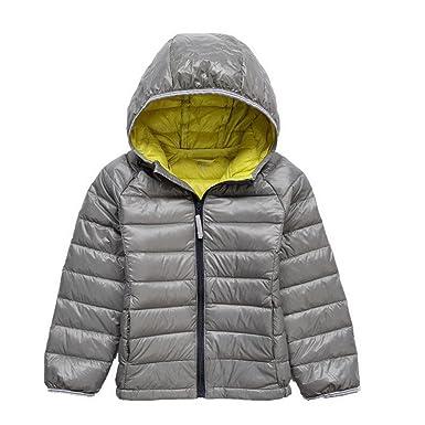 1757c667d Amazon.com  GETUBACK Kids Down Coat Warm Puffer Jacket with Hood ...
