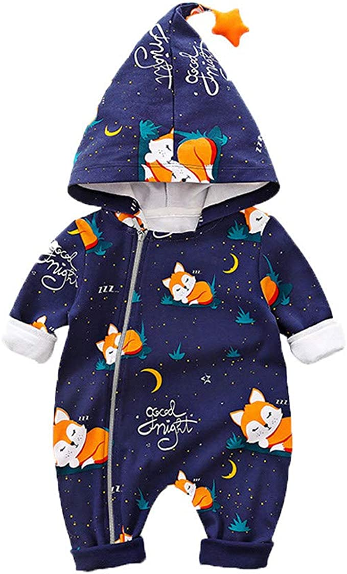 Toddler Girl Sportswear Outfit  Jumpsuit Hoodie zip up Size 0-3 Years Old New.