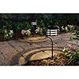 Cheap Hampton Bay Solar Bronze Outdoor Integrated LED New Age Pagoda Landscape Path Light (2-Pack)