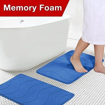 Amazon Com Flamingo P Microfiber Memory Foam Fieldcrest Luxury Bath