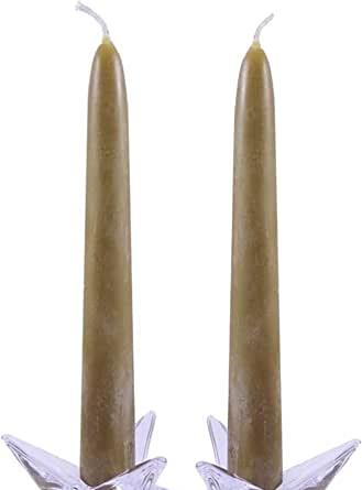 10 taper pair Authentic Handmade Bayberry Candles