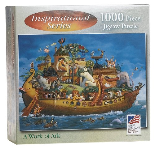 Work of Ark 1000 Piece Puzzle