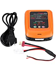 RC Balanced Charger Lipo Battery Balanced Charger 25W 3A Multi-Charger Support 2S / 3S LiPo Life 1-8S NiMh Battery(US Edition)