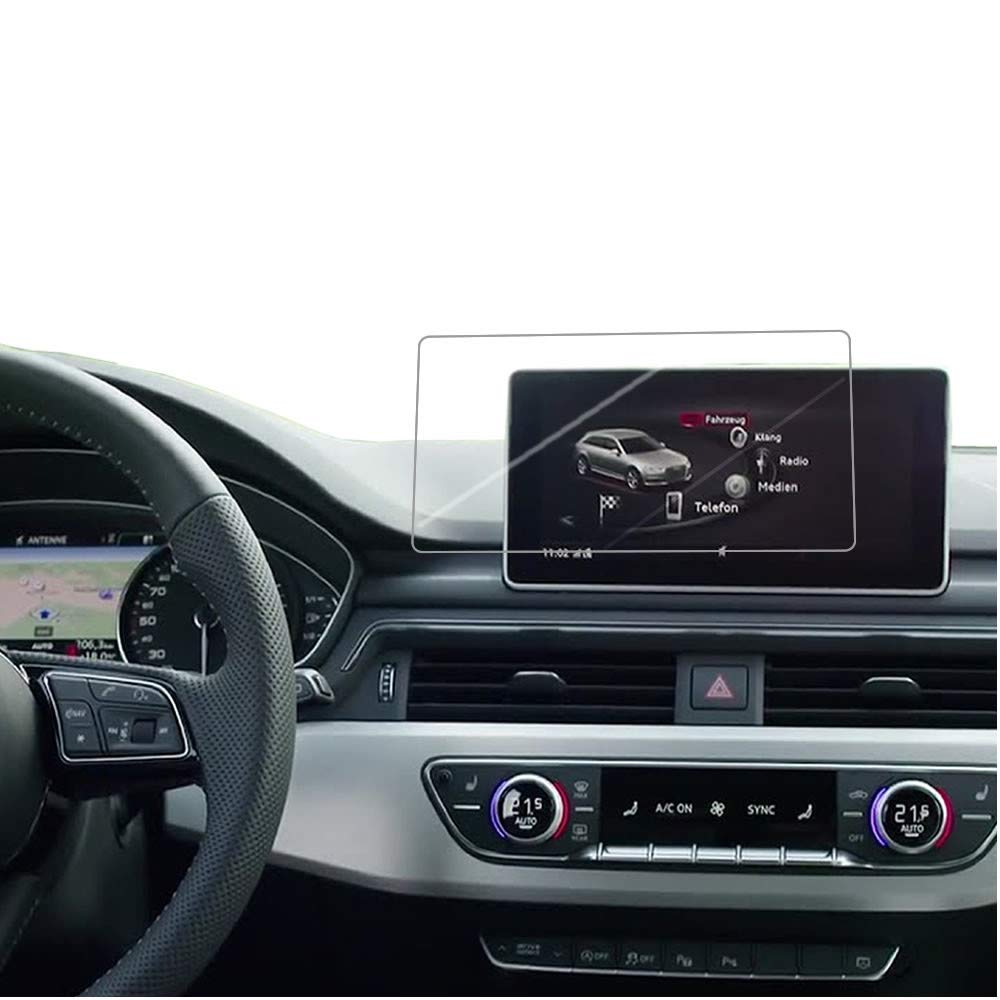 Free Smooth//Self-Healing//Bubble IPG for Audi A4-A5-Q5 2017//2018 Navigation Touch Screen Radios Screen Protector Invisible Ultra HD Clear Film Anti Scratch Skin Guard