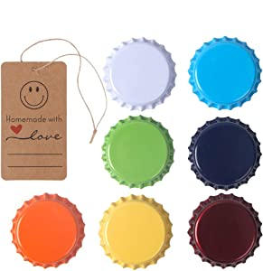 315 Count Beer Bottle Caps Oxygen Absorbing Crowns, Ideal for HomeBrew, 7 Assorted Colors