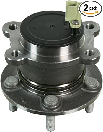 2005 fits Ford Escape Front Wheel Bearing and Hub Assembly One Bearing Included with Two Years Warranty Note: 4WD, FWD