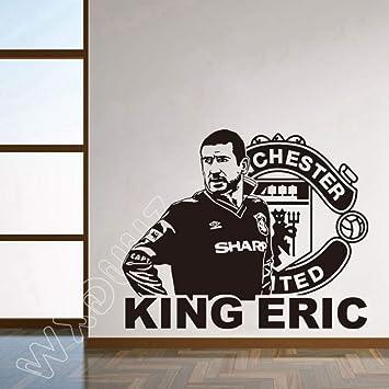 Jugador de fútbol Etiqueta de la pared Dormitorio Niños Habitación ...