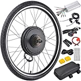 "AW 26""x1.75"" Rear Wheel 48V 1000W Electric Bicycle Motor Kit E-Bike Cycling Hub Conversion Dual Mode Controller"