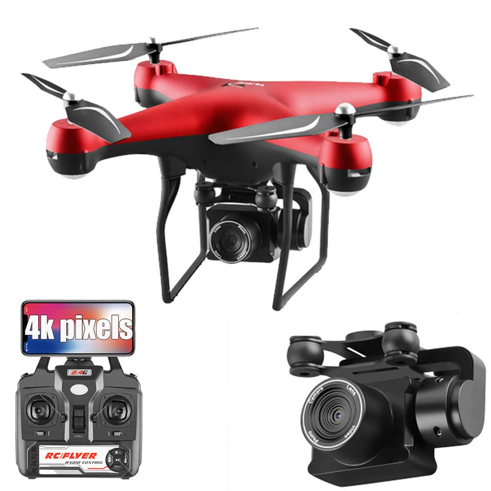 JJR/C Drones con Cámara WiFi FPV 4K HD,Mejor Dron para ...