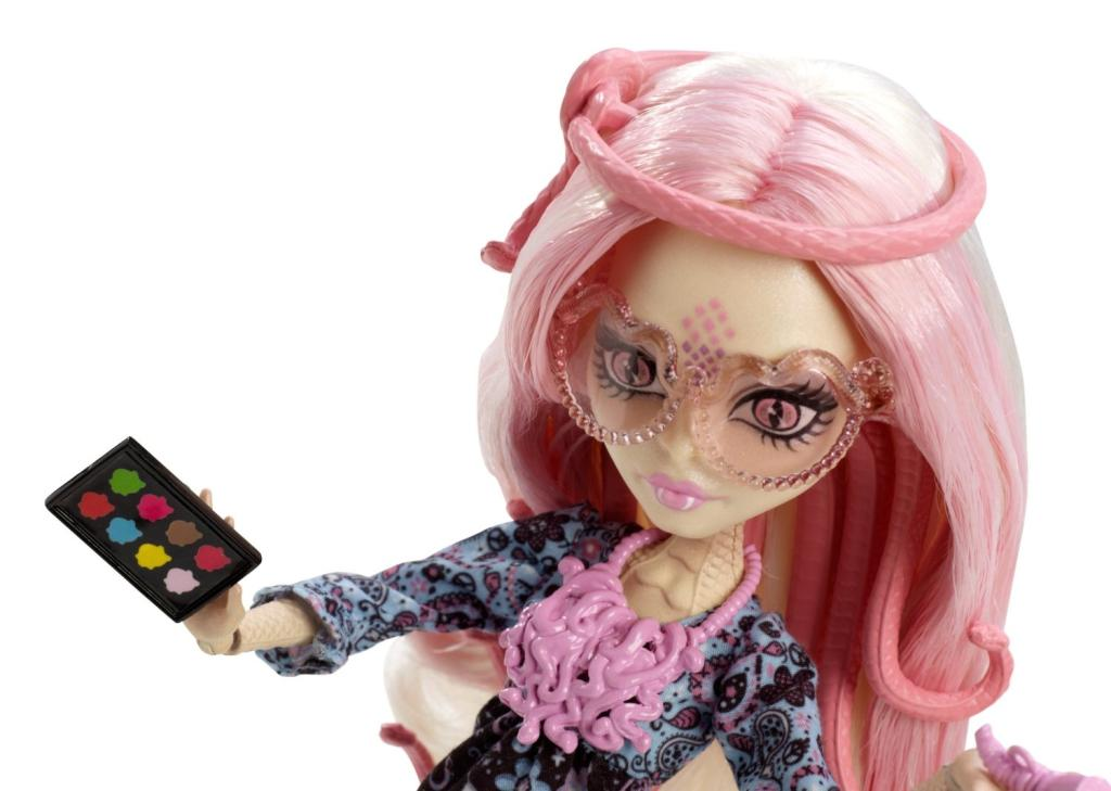 Amazon.com: Monster High Frights, Camera, Action! Viperine