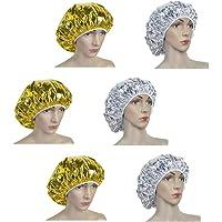 Beaupretty 6 Stks Haarverzorging Cap Behandeling Spa Cap Diepe Conditioning Cap Aluminiumfolie Warmte-Isolatie Voor…